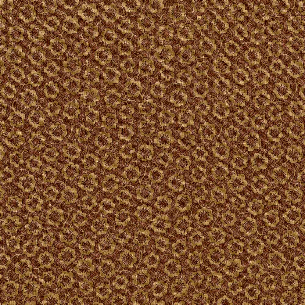 3058-002 SIMPLE BLOOM-GOLD
