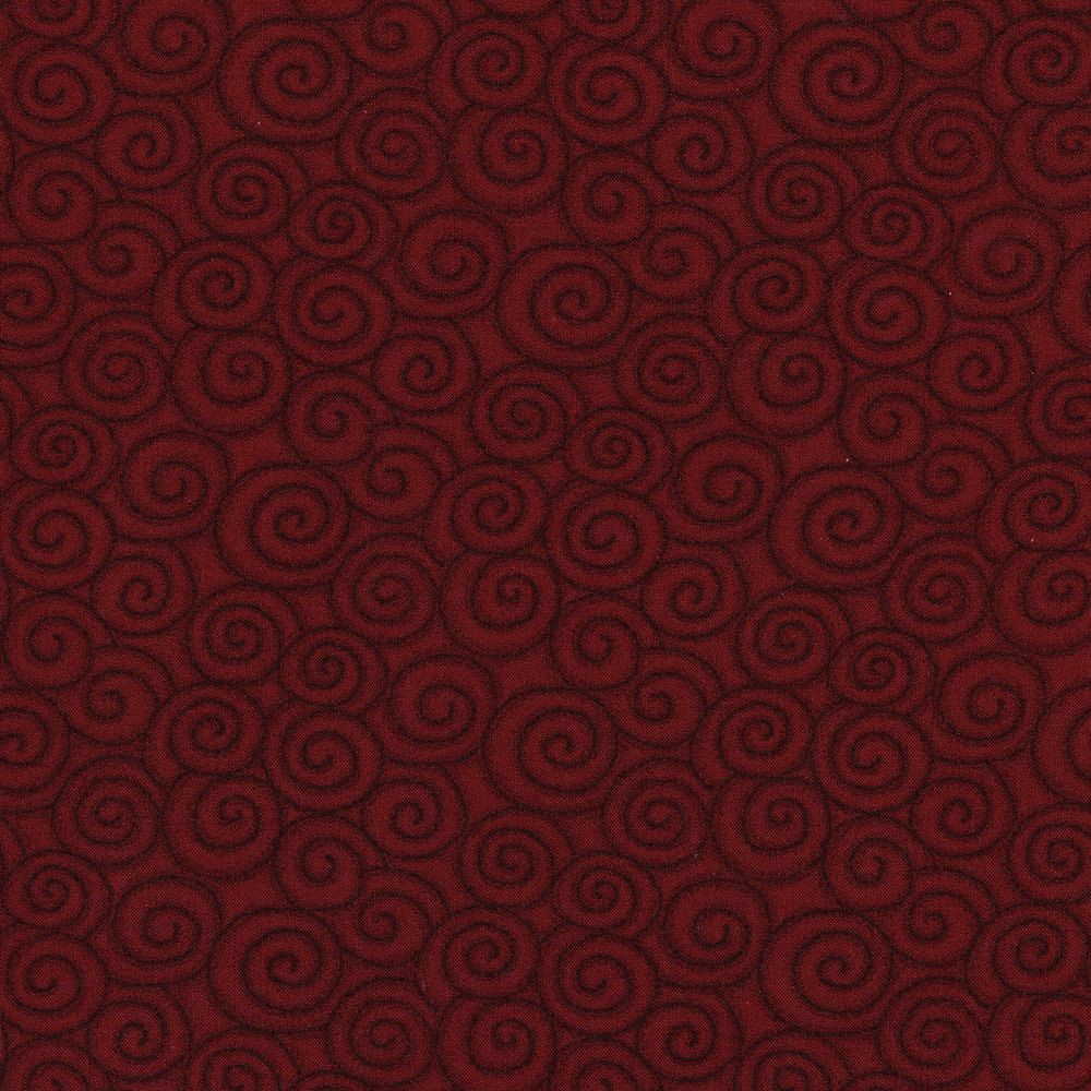 3059-001 SWIRL-BRICK RED