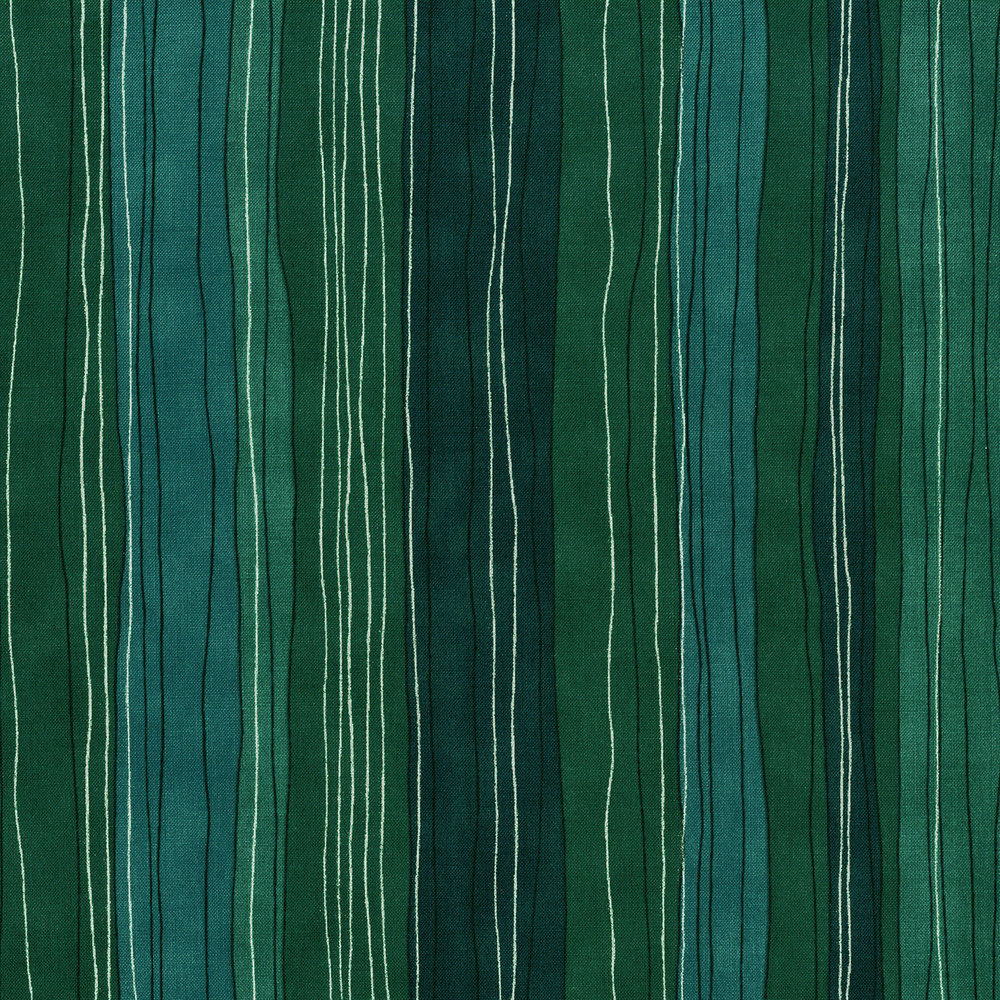 3023-001 STERLING STRIPE-TURQUOISE