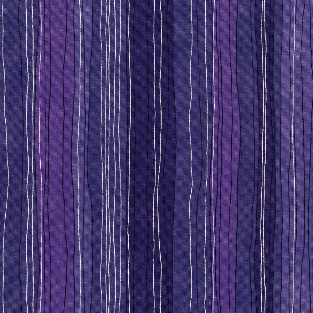 3023-003 STERLING STRIPE-HYACINTH