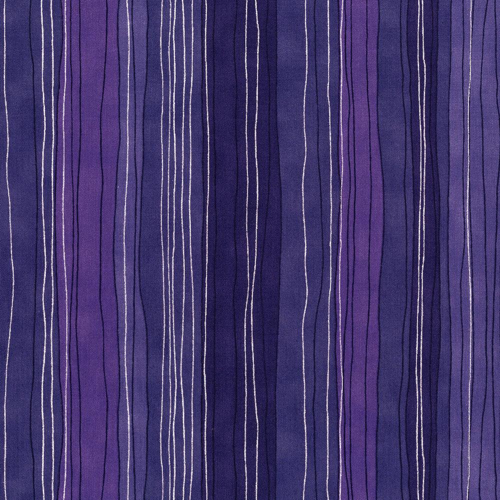 3023-003 STERLING STRIPE-HYACINTH