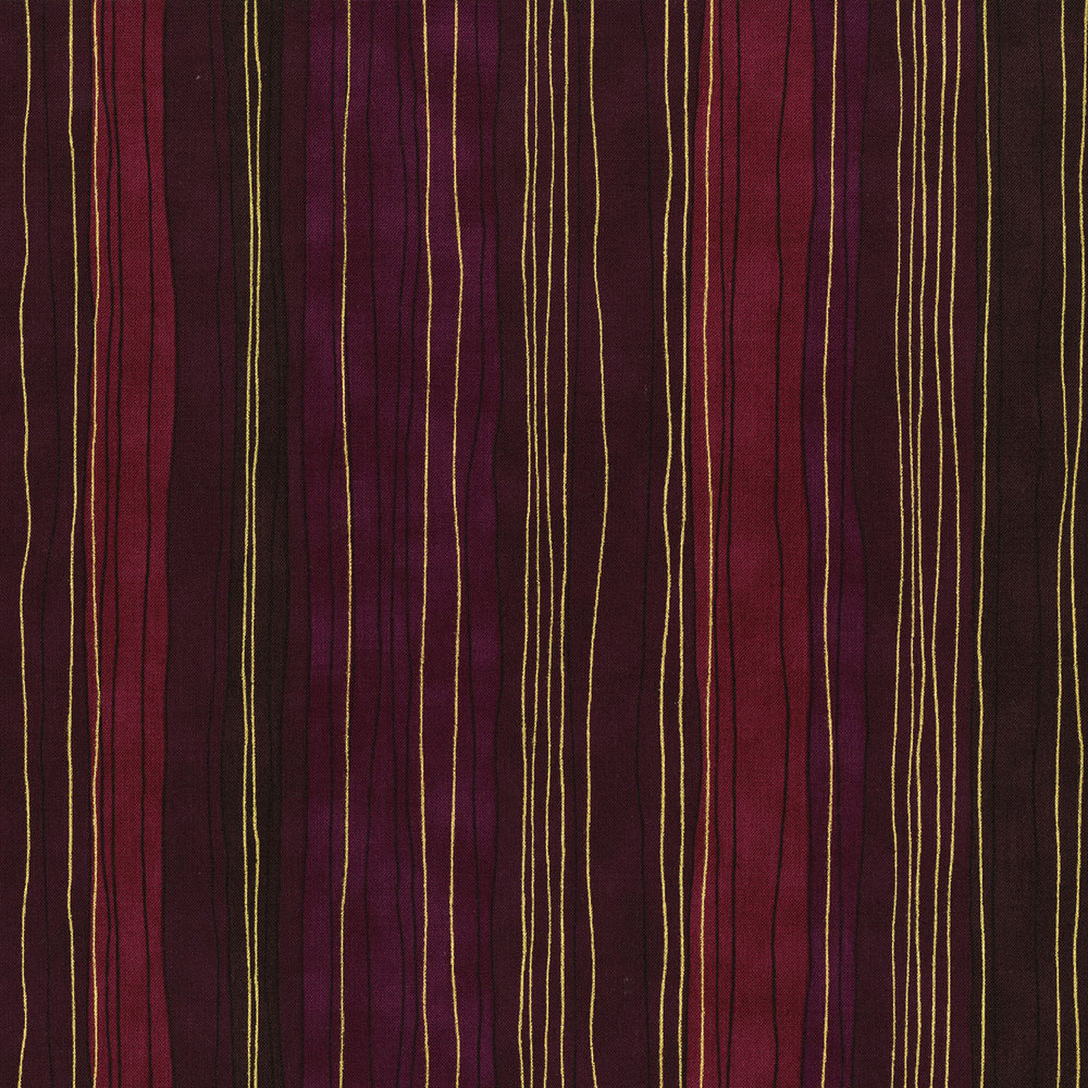 3023-004 STERLING STRIPE-DAHLIA