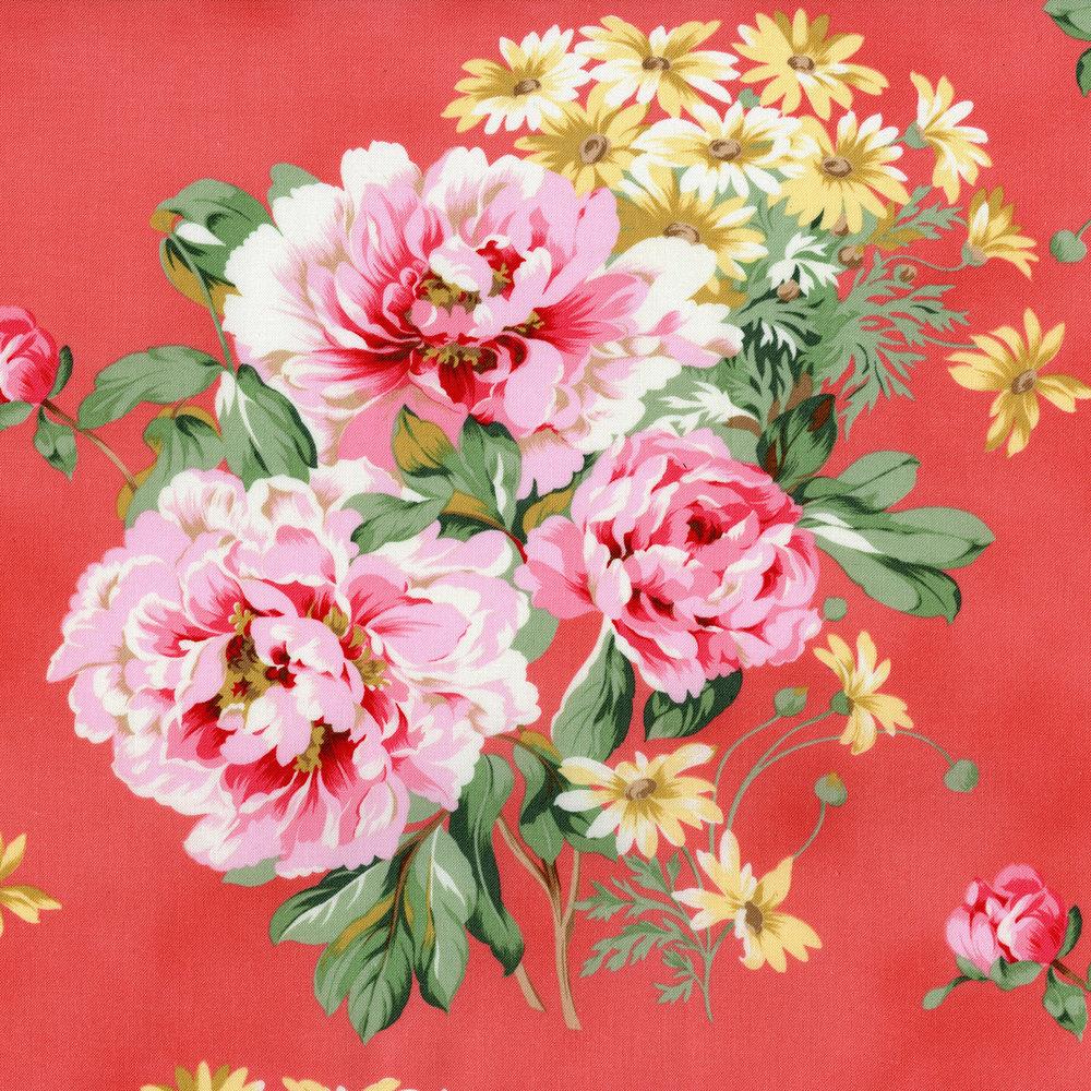 2933-001 CHERISH FLORAL-ROSE PETAL