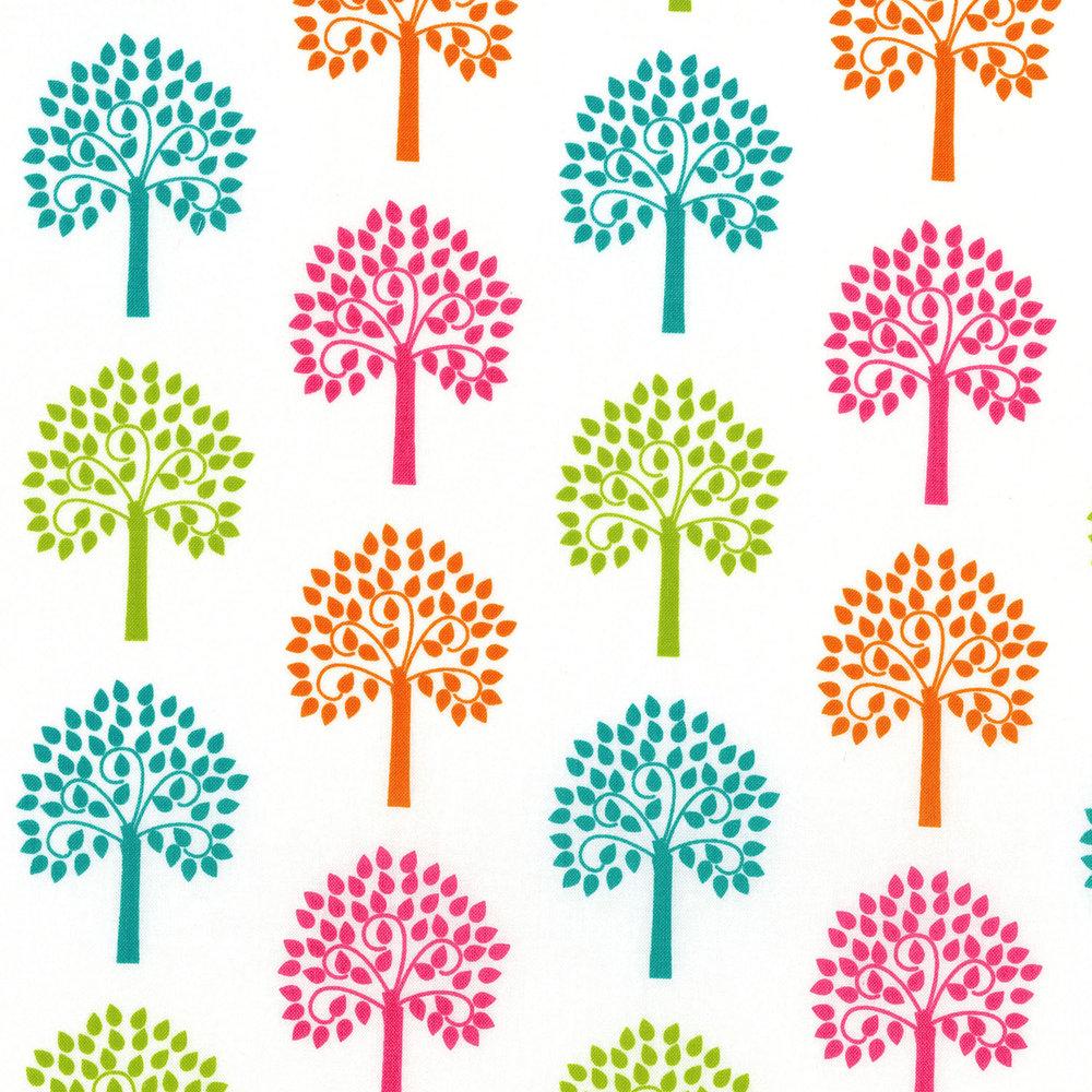 2816-001 TREES - WHITE