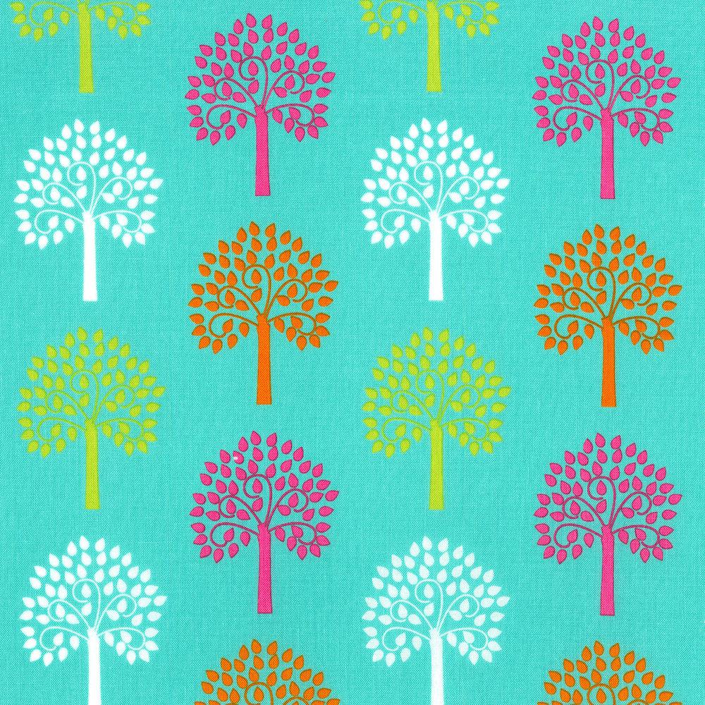 2816-002 TREES - TEAL