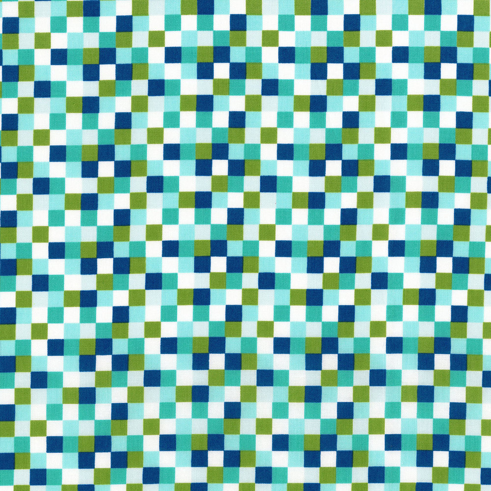 2818-002 CHECK - TEAL-MULTI