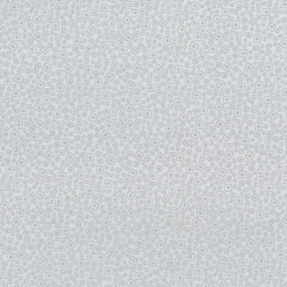 2856-003 PATCHWORK -GREY