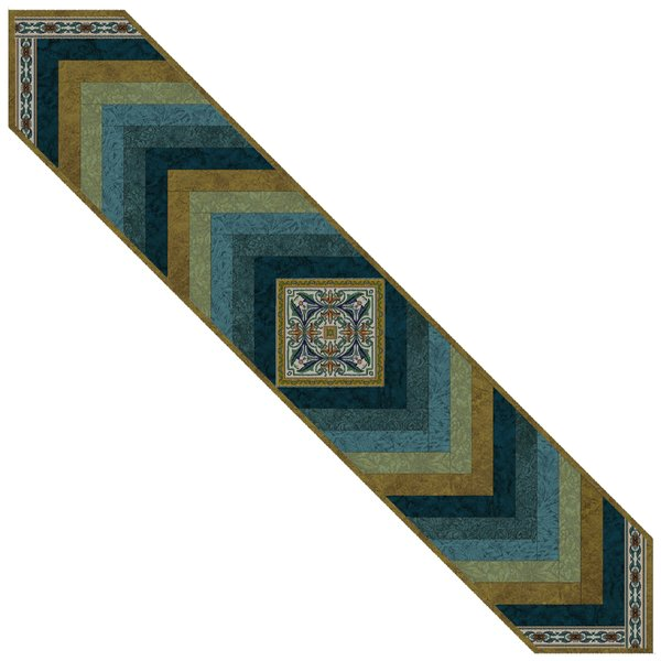 MEDALLION TABLE RUNNER