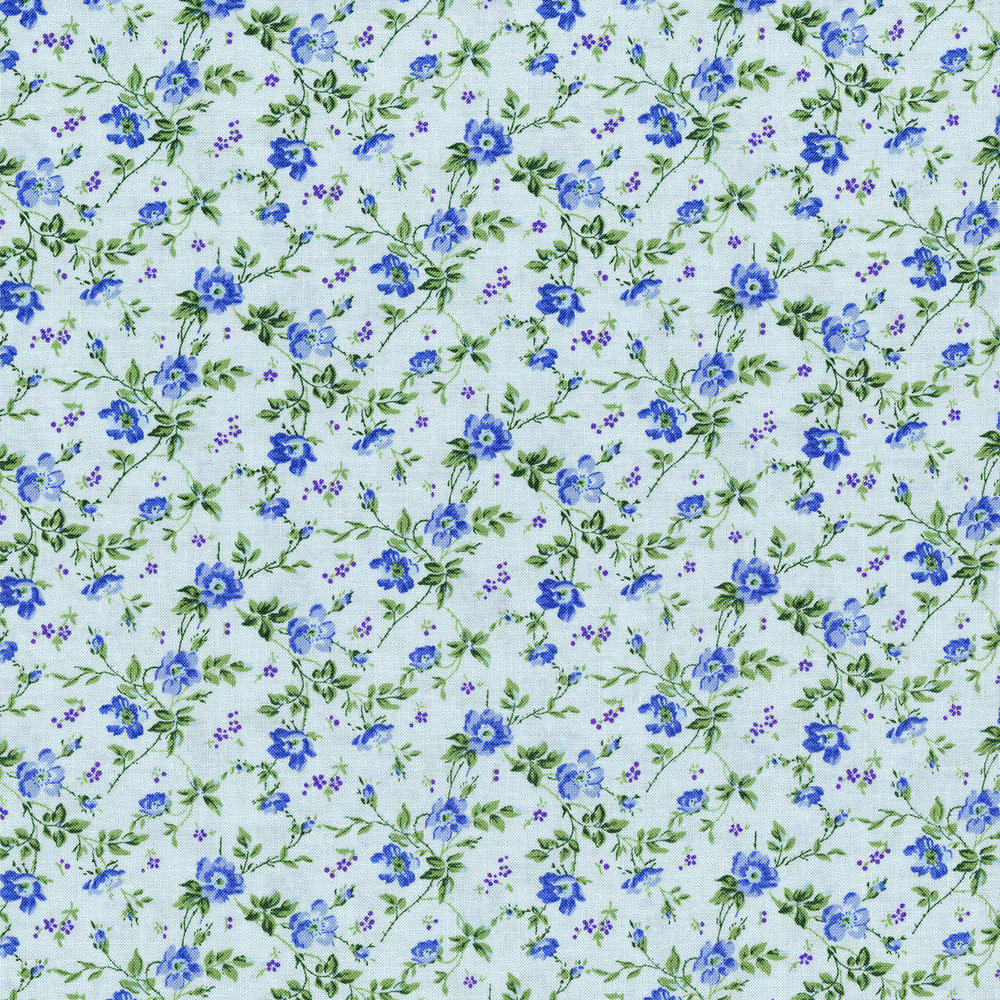 3148-003    DAINTY BLOOMS-  BLUEBELL