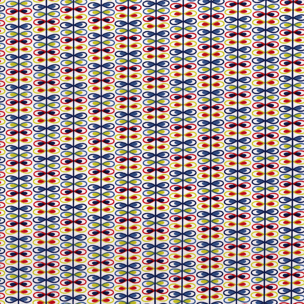 3038-001 LOOP STRIPE-WHISPER WHITE