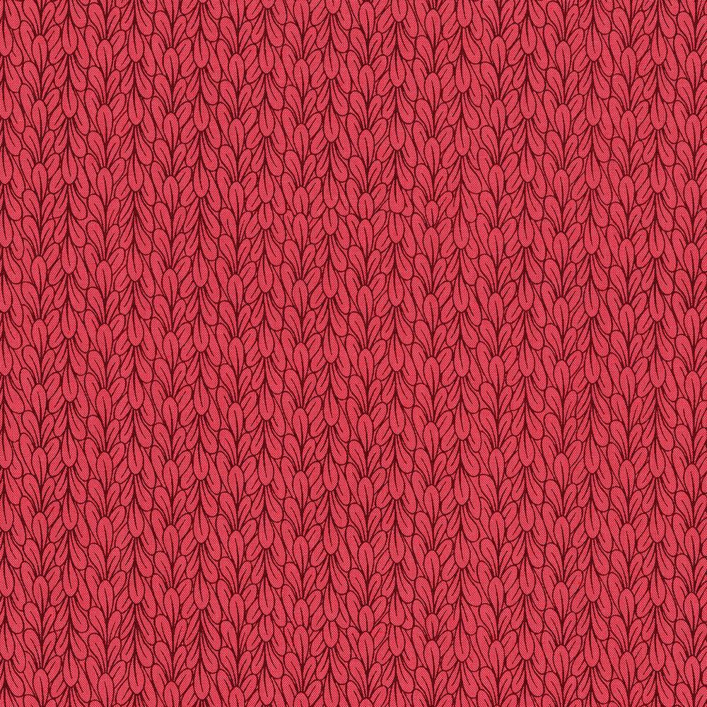 3041-001 LEAVES-RASPBERRY WINE
