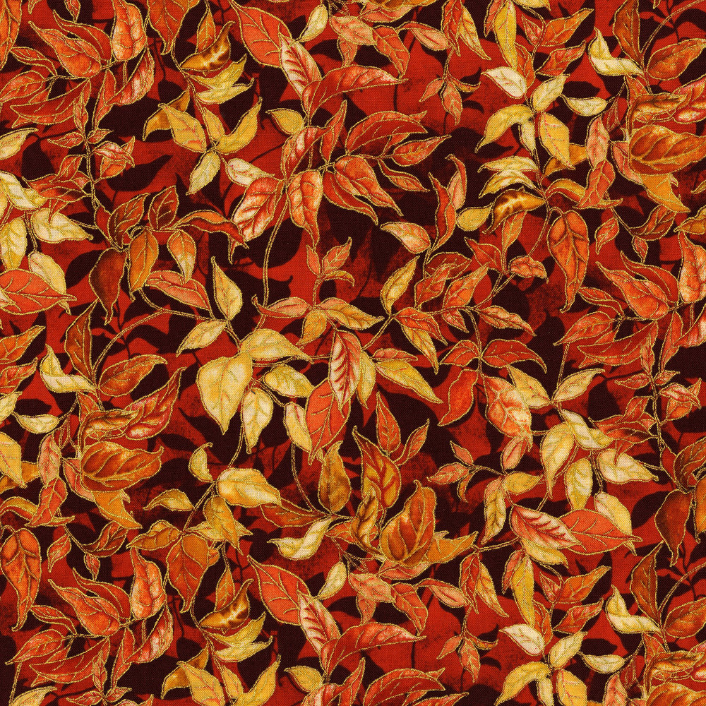 3118-002  RUSTLING LEAVES-MAPLE
