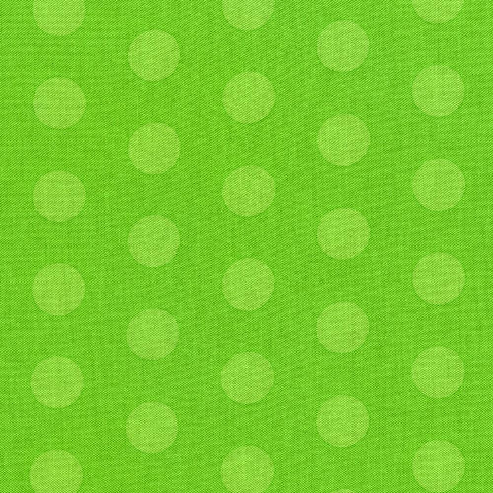 3127-002 BIG OL DOTS-GHOULISH GREEN