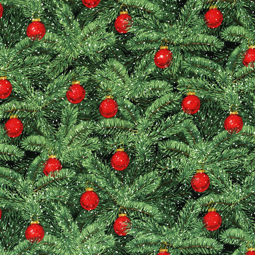 3154-002  BRILLIANT BAUBLES-RADIANT PINE
