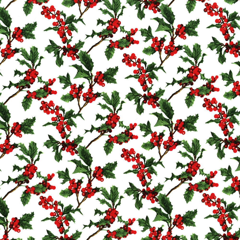 3156-001  BOUGHS OF HOLLY-RADIANT NOEL