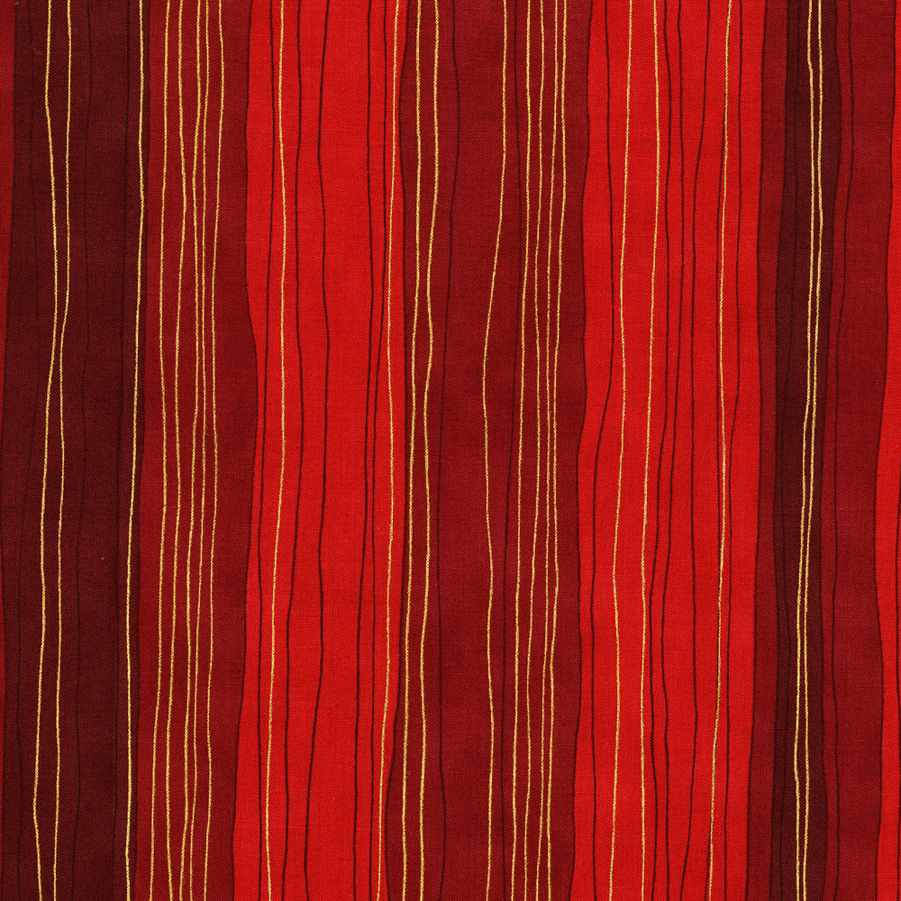 3023-005  STERLING STRIP-SCARLET