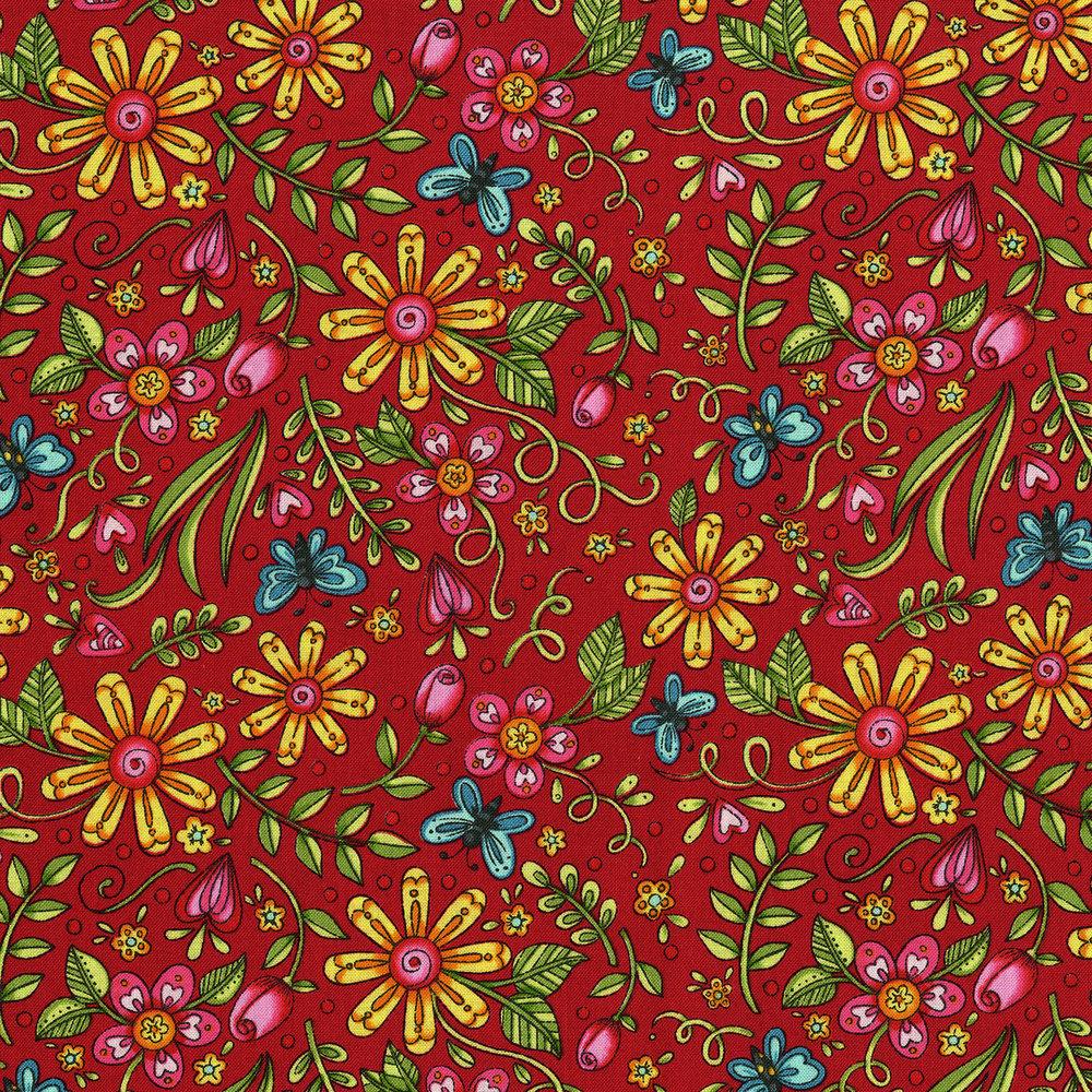 3244-003 GARDEN PLAYGROUND-RED