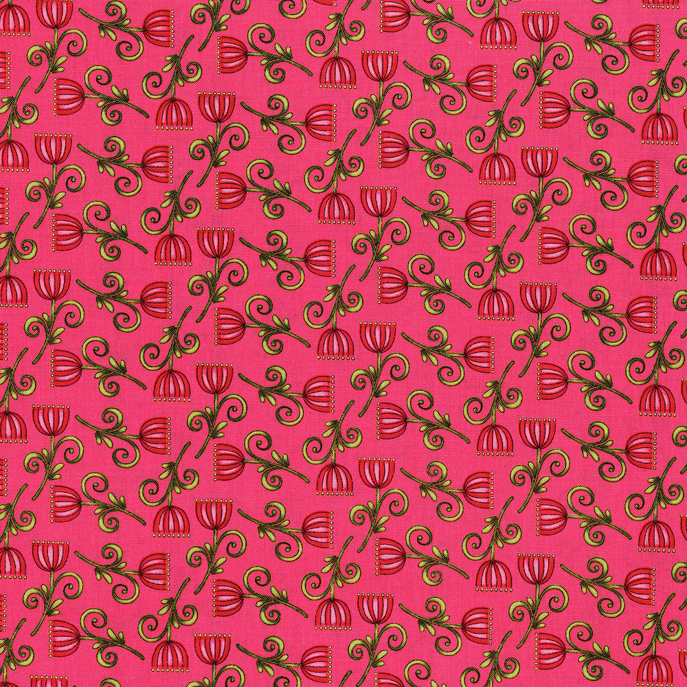 3247-004  SWEET BLOSSOM-HOT PINK