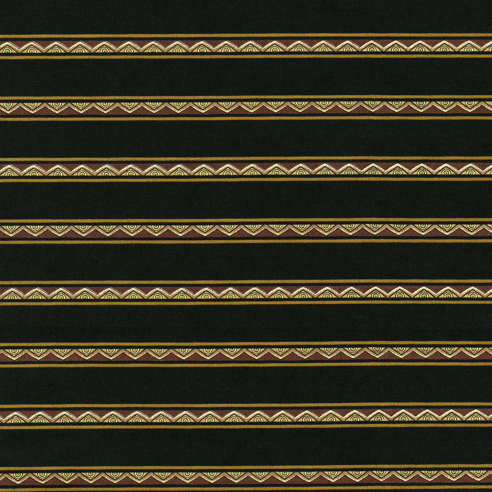 3287-002  MINI STRIPE-BROWN