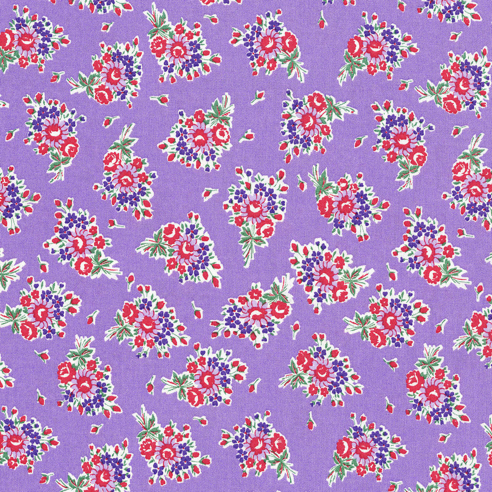 3305-001 BOUQUET BEAUTIES-LAVENDER