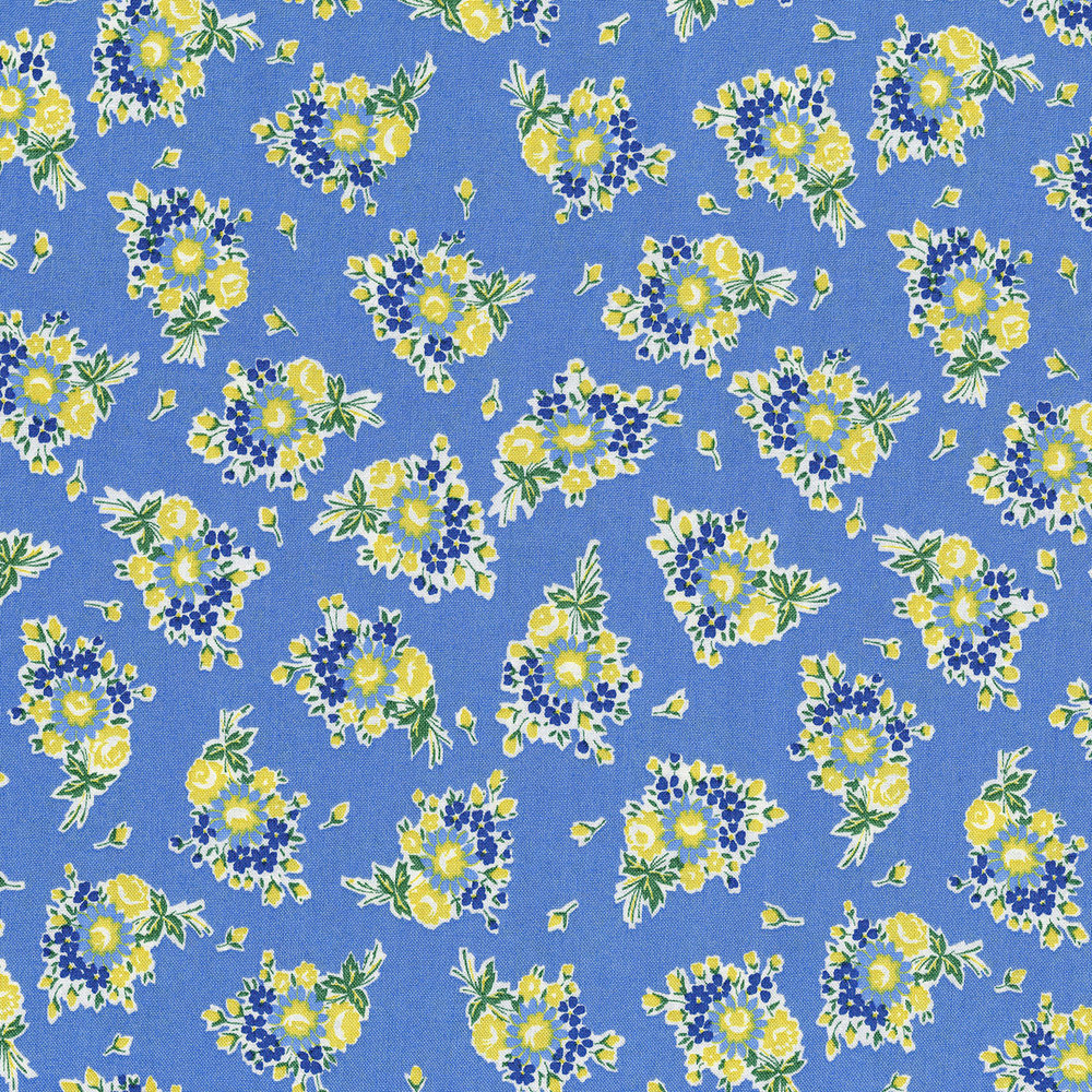 3305-003  BOUQUET BEAUTIES-FORGET ME NOT