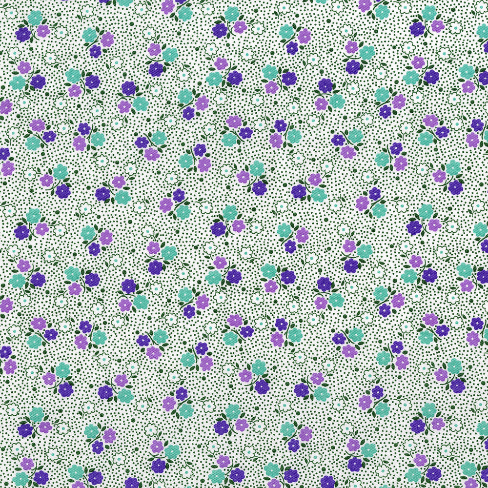 3308-003  POSIE DOT-GRAPE