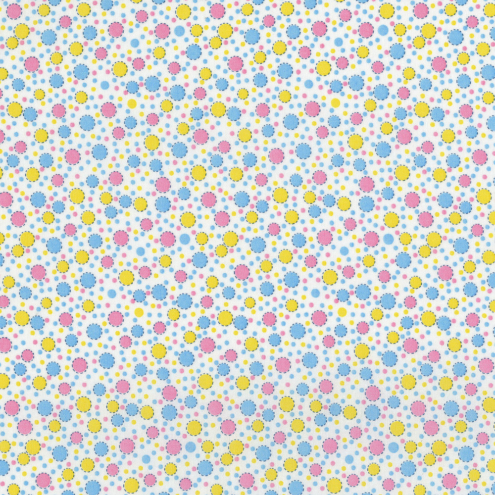 3310-001  CIRCUS DOTS-PINK LEMONADE