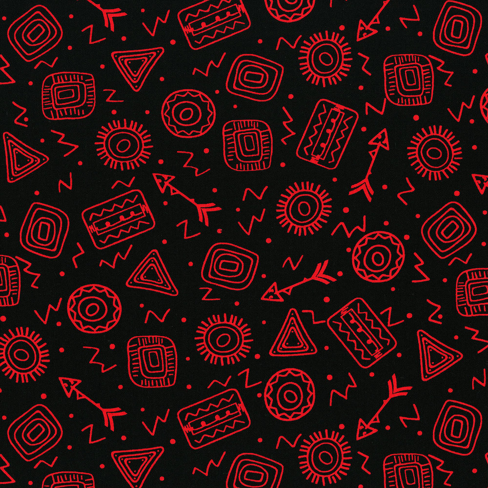 3333-003 SYMBOL TOSS-RED