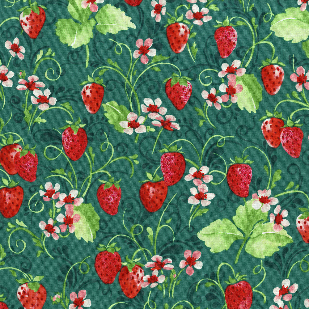 3371-001  STRAWBERRY PIE-RADIANT JUNIPER