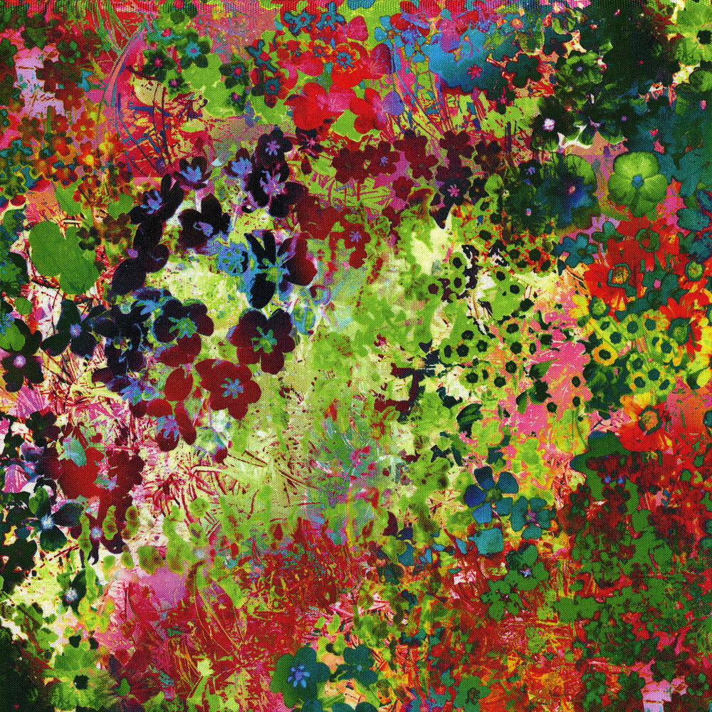 3392-001  FLORAL IMPRESSIONS-WILDFLOWER