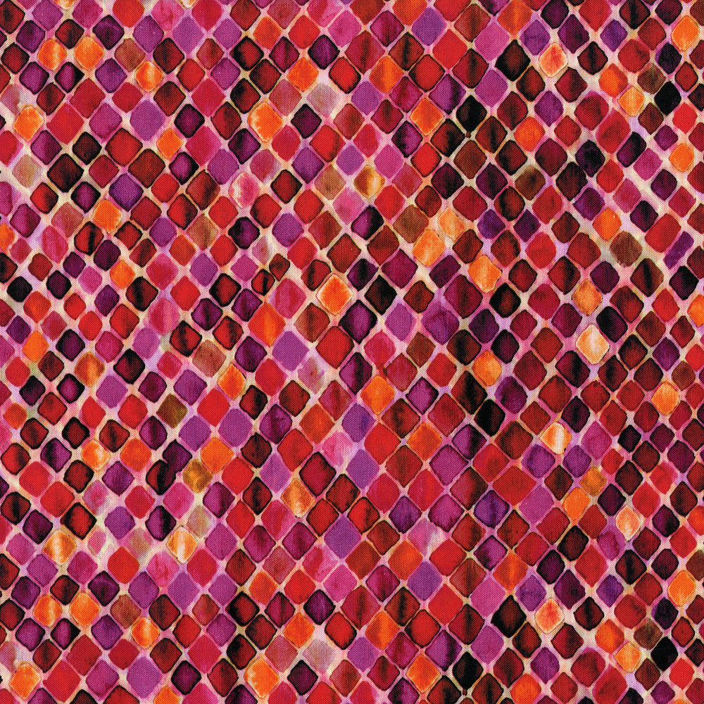 3394-002  MOSAIC-POMEGRANATE