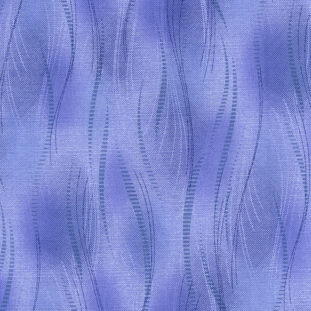 2798-006   WOVEN MATTS - PERIWINKLE