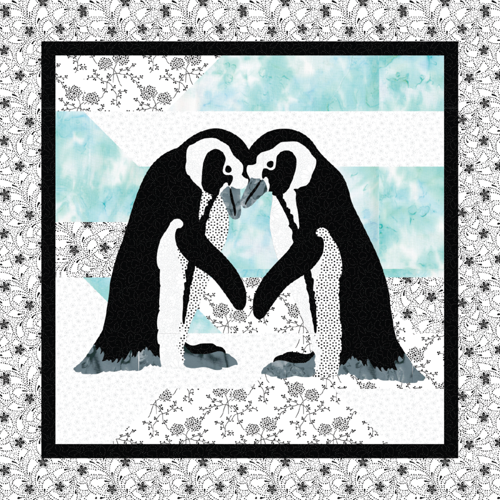 PENGUIN LOVE PILLOW