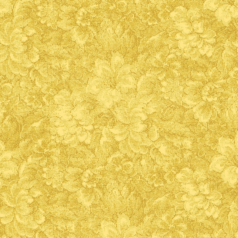 3366-001  TAPESTRY BOUQUET-GENTLE YELLOW  QP18