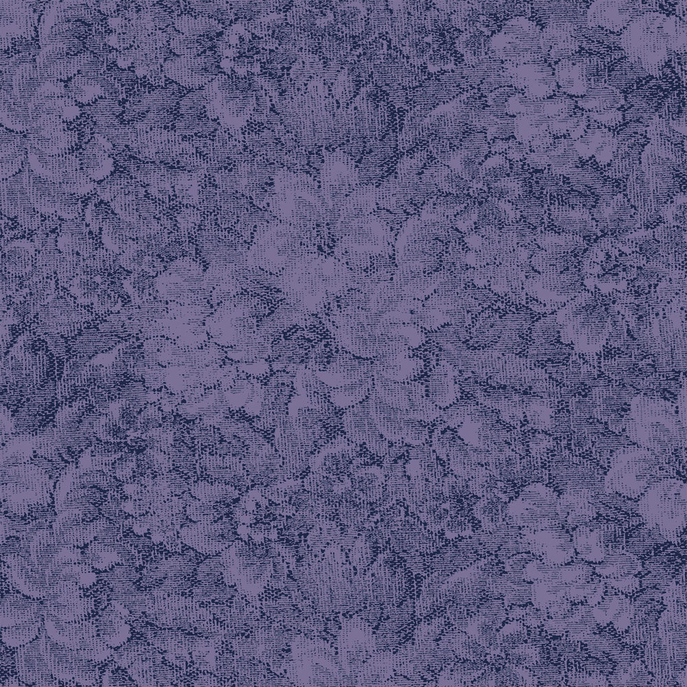 3366-006  TAPESTRY BOUQUET-PERIWINKLE  QP93