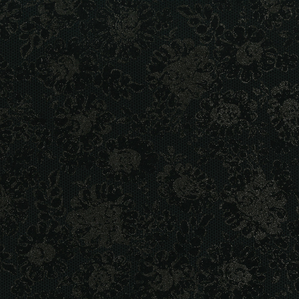 3481-001  LUSTROUS LACE-RADIANT BLACK