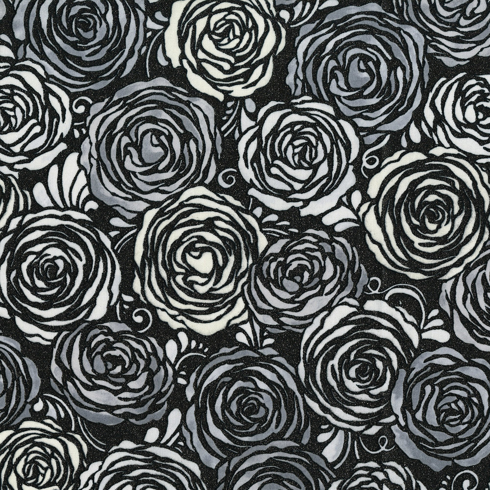 351  3-002  CANDIED ROSES-RADIANT PLATINUM