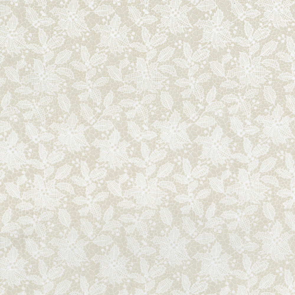 3494-003 HOLIDAY LACE-WINTER WHITE