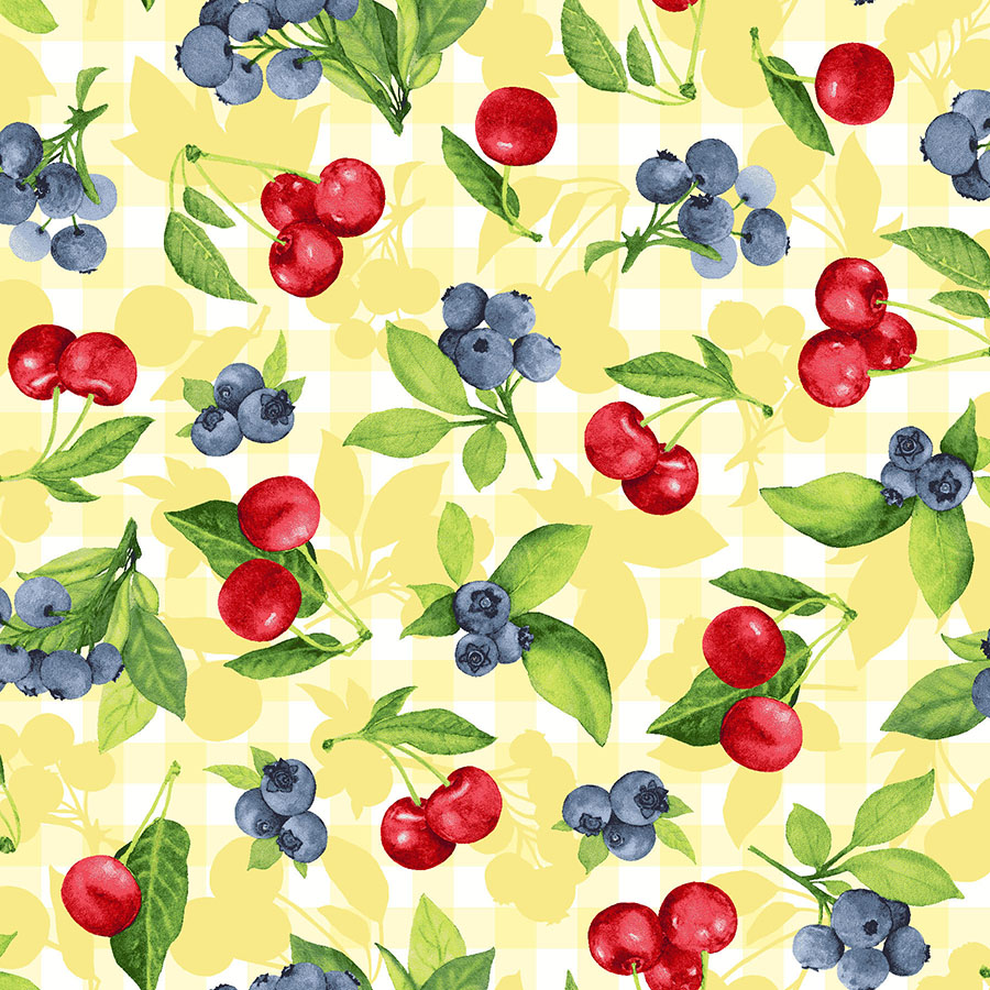 3558-002  CHERRY BERRY-SUNSHINE