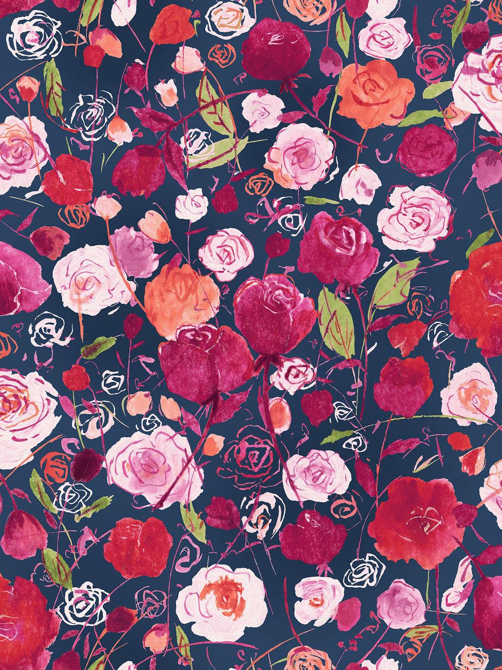 3515-001 ROSE GARDEN-PEONY