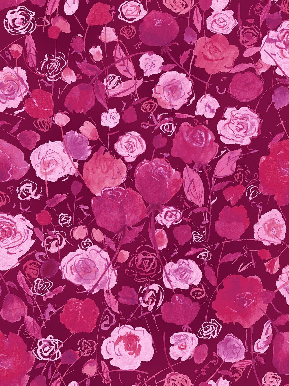 3515-002 ROSE GARDEN-DAHLIA