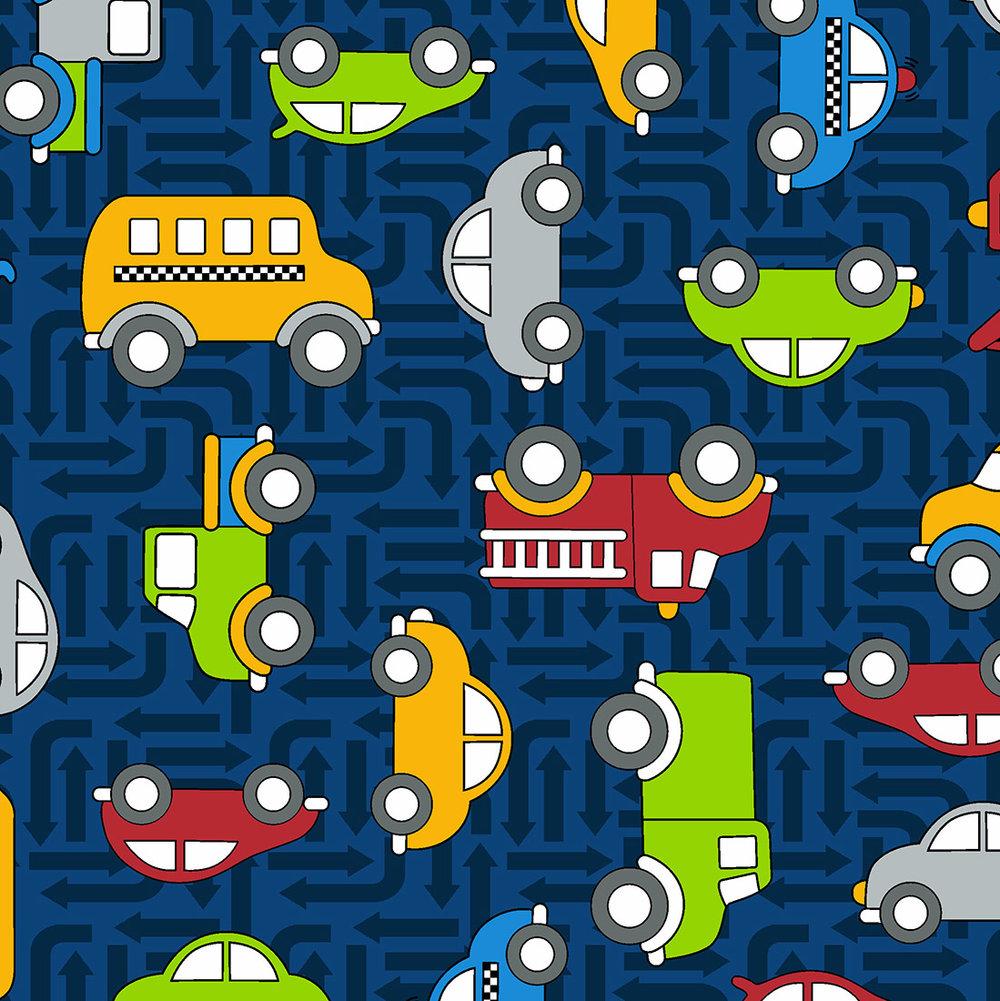 3403-002 CARS-DARK BLUE
