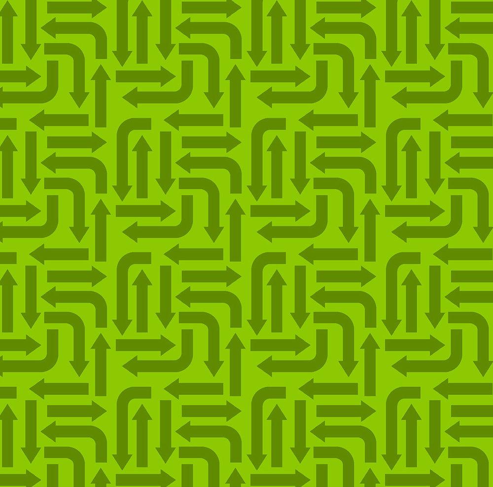3406-002 ARROWS-GREEN