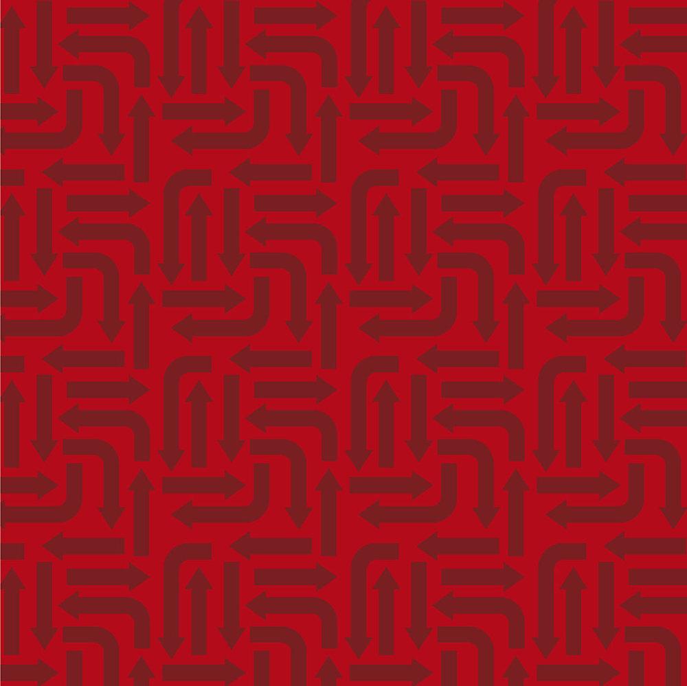3406-003 ARROWS-RED