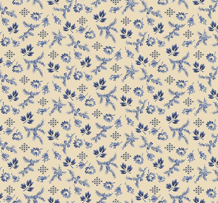 3551-002 - HARPER - VANILLA BLUE