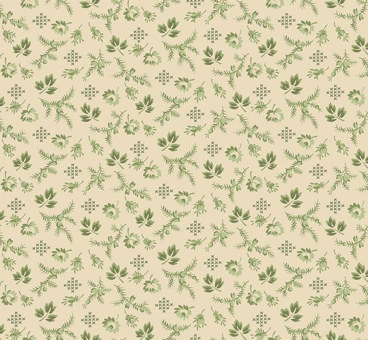 3551-003 - HARPER - VANILLA GREEN