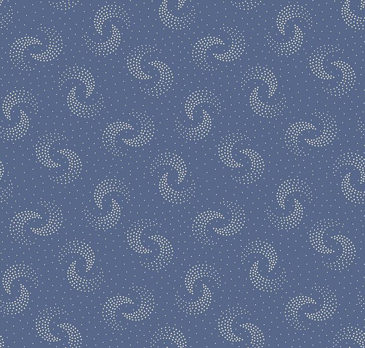3553-001 - HAZEL - DUSTY BLUE