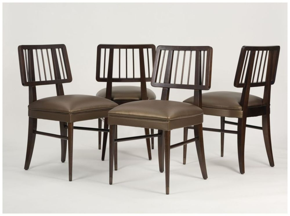 Custom Restaurant Chairs with Open Back and Upholstered Seat