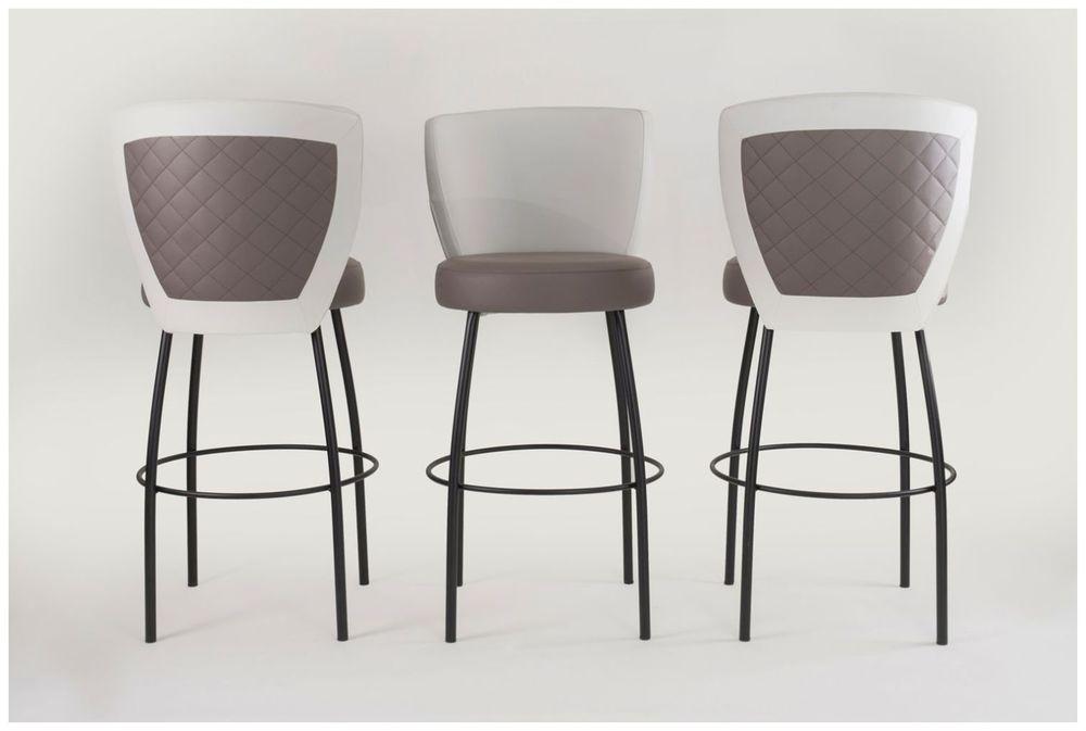 Custom Upholstered Restaurant Barstools