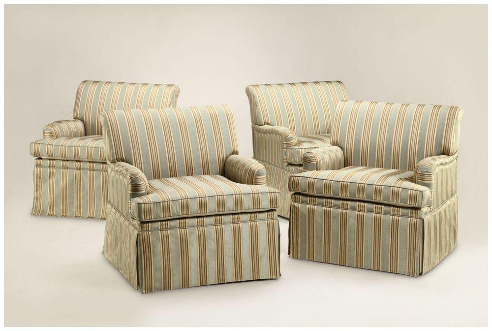 Custom Upholstered Hospitality Lounge Chairs